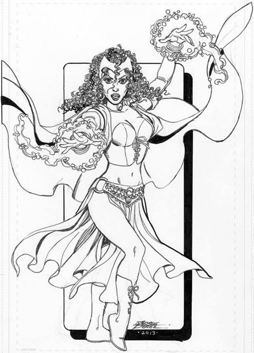 Scarlet Witch Coloring Pages Coloring Coloring Coloring Pages